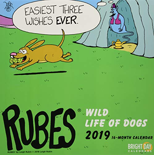 Rubes Wild Life of Dogs 2019 (LICENCED)