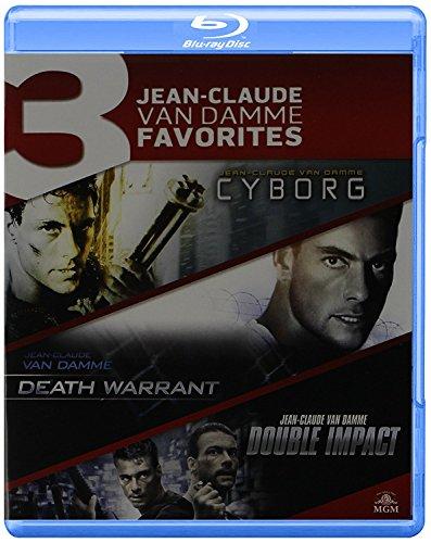 Blu-ray 2016 Jean-Claude Van Damme Triple Feature: Cyborg / Death Warrant / Double Impact-Blu-ray Region Free