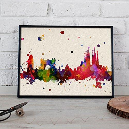 Un universo ilustrado para potenciar el estilo de tu hogar. Crea espacios únicos y personales con nuestras láminas llenas de color. Poster de alta calidad impreso en papel de 250 gramos. Lámina perfectas para salones, dormitorios, estudios... El rega...