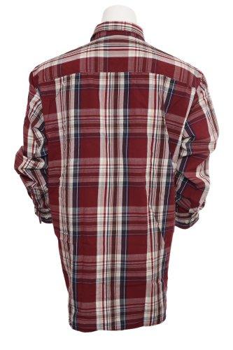 Exklusives Hemd von Kitaro Rot