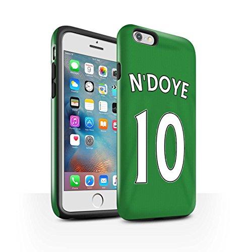 Offiziell Sunderland AFC Hülle / Glanz Harten Stoßfest Case für Apple iPhone 6S+/Plus / Pack 24pcs Muster / SAFC Trikot Away 15/16 Kollektion N'Doye
