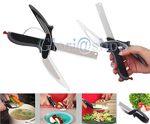 Each forbici da cucina lama taglia frutta verdura carne forbice lame taglio affetta