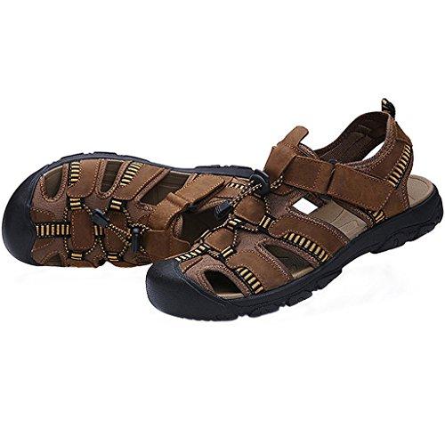 Eagsouni Sandales de Randonnée Extérieur Trekking Chaussures homme marron-B