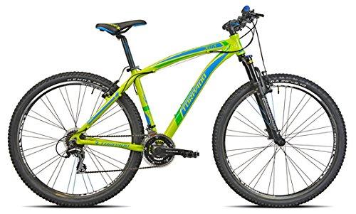 Torpado TY300Delta Vélo VTT 29', couleur citron vert, 3x 7vitesses, taille 52, suspension...