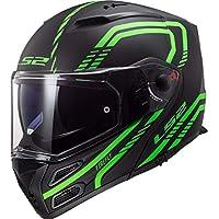 d3b37bda Motorcycle helmets LS2 FF324 METRO EVO FIREFLY MATT GLOW Green P/J, Noir/