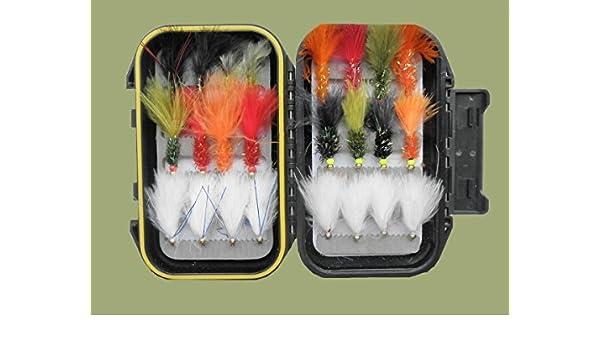 5 stücke 5 Farben Verschiedene Zonker Streamers Forelle Fliegenfischen
