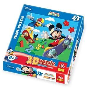 Mickey Mouse Trefl 35642 Cars - Puzzle en 3D (72 Piezas)