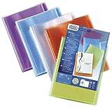 Elba 100211077 Polyvision Porte-documents A4 Bleu/Rose/Violet/Vert
