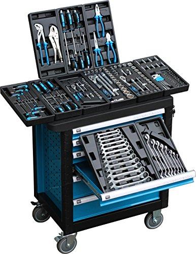 Detec - Werkstattwagen blue Edition
