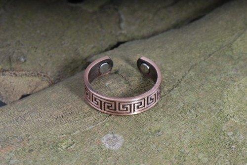 Berg Celtic Kupfer Ring, 2 Magnete mit 800 Gauss (Celtic Mütter Ring)