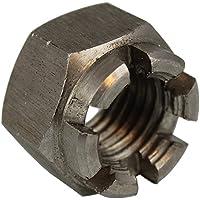 Kronenmutter DIN 935-1 6 Stahl blank Feingewinde M 32 x 1,5-1 St/ück