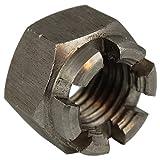 10 Stück Kronenmuttern M12 (SW19) DIN 935 Edelstahl A2