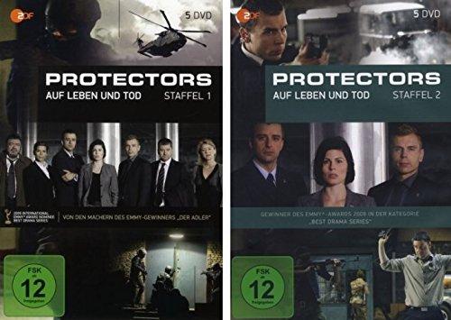 Bild von Protectors - Staffel 1+2 im Set - Deutsche Originalware [10 DVDs]