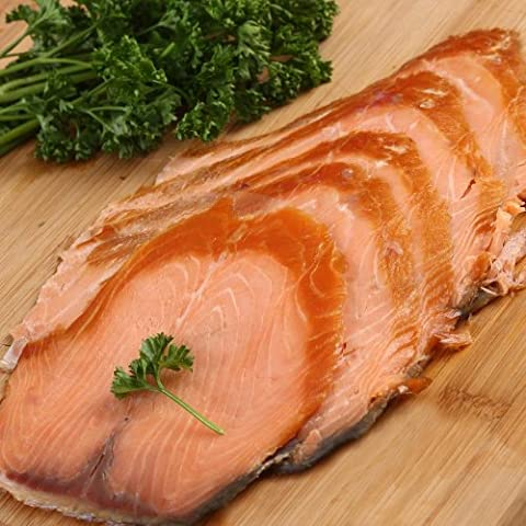Port of Lancaster Smokehouse Hot Smoked Salmon Side (min 800g)