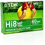 TDK - Cassette vidéo Hi8 pour caméscope - Qualité MP - 60 mn