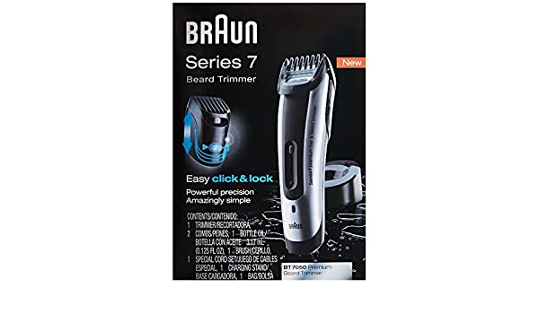 Buy Braun Series 7-7050 Beard Trimmer 1 Count Series 7-7050 Beard Trimmer 1  Count Online at Low Prices in India - Amazon.in fbfe7f7aa8