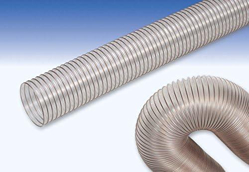 Tubo flex poliuretano con spirale spirale spirale in acciaio ramato Ø interno 120 mm (3 metri) | Arte Squisita  | Di Alta Qualità  | Nuove varietà sono introdotte  8d012f