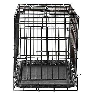 veterinaria perro: Home Discount Jaula con Bandeja para Mascotas con Descuento para el hogar, Plega...