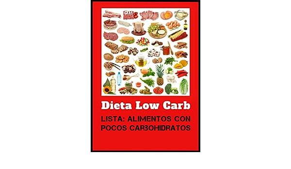 lista de alimentos dieta low carb