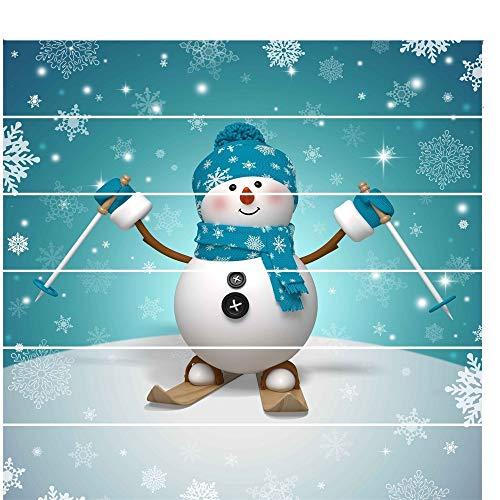 Schneeflocke Glasaufkleber Wasserdichte gedruckte Innenweihnachtstreppe-Wand-Aufkleber-Dekoration für Weihnachtsjahreszeit Aufkleber Für Weihnachtsdekoration