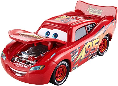 29870b622dc Buy Mattel Disney Pixar Cars Lightning Mcqueen Series Diecast Vehicle -  Multi Color on Amazon