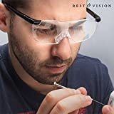 hasendad Rest & Vision-Gläser von erhöhen, Schwarz