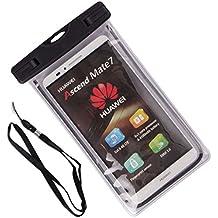 ZeWoo Sac Etanche Smartphone En Moins De Portable De 5.7 Pouces Universelle - Compatible avec LG G2 , LG G2 mini , LG G3 , LG G3 mini , LG G3 Stylus , LG G4 , LG G4c (G4 mini) , LG G4 Stylus LS770 , LG G4 Beat , LG G5 , LG G Pro Lite , LG G Flex 2 - Housse Etui Imperméable Avec Fonction D'écran Tactile Imperméable Jusqu'à 10M