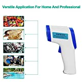 Shopizone® Multi Function Infrared Thermometer Non-Contact Temperature measuring Device Laser Digital Pyrometer White