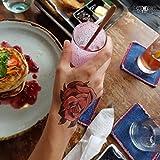 Tatuaggio Temporaneo ArtWear Tattoo 'Amazing Roses'