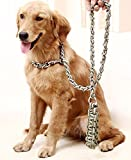Hundebiss Verhinderung Hund Kette Zugkraftseilkette Goldene Alaskan Huskys im großen Hund Seil ( farbe : Military Green Chain , größe : Xl )
