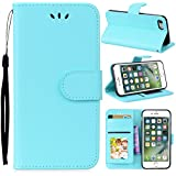 IPhone 7 IPhone 8 Card Holder Case, IPhone 7 IPhone 8 Wallet Case Slim, IPhone 7 IPhone 8 Folio Leather Case Cover Shockproof Case With Credit Card Slot, Durable Protective Case Compatible