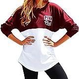 West See Damen Sweatshirts Druck Langarm Hoodies Tshirts Tops Sport Pullover Casual
