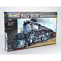 Revell Revell-02165 Maqueta Big Boy Locomotive, Kit Modello, Escala 1:87 H0 (2165)(02165), Multicolor