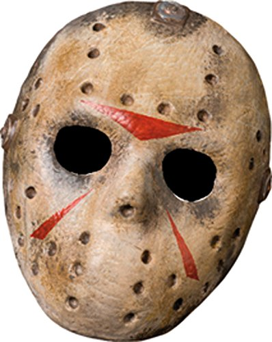 Rubies Deutschland 3 4170 - Jason Hockeymaske (Hockey Maske Jason Voorhees Deluxe)