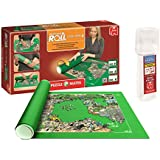 Outletdelocio. Pack Puzzle Roll 3000 XXL. Tapete universal para transportar/guardar puzzles hasta 3000 piezas + Pegamento puzzles