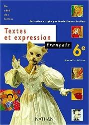 Français, 6e, textes et expression, élève, édition 2000