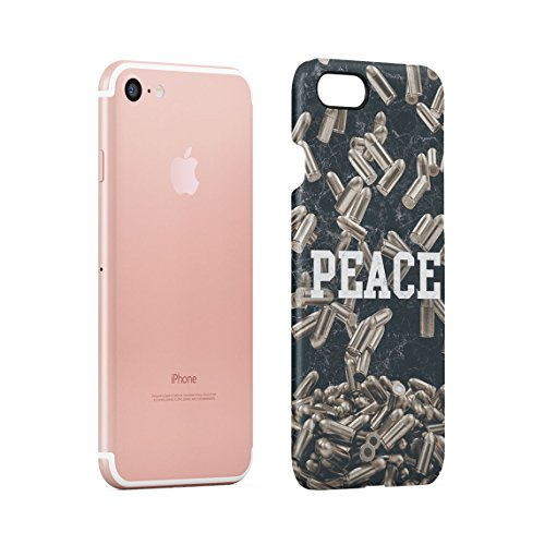 Easy Money Cash Dollar Rolls Franklin Benji Billionaire Dünne Rückschale aus Hartplastik für iPhone 7 & iPhone 8 Handy Hülle Schutzhülle Slim Fit Case cover Peace Bullets