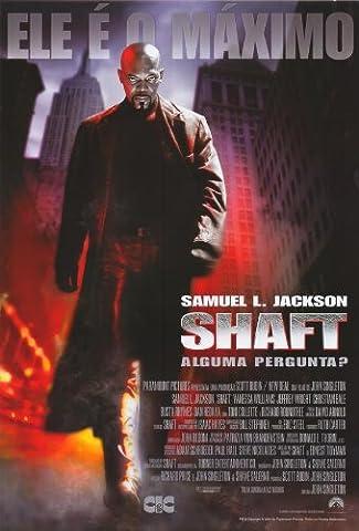 Shaft Affiche du film Poster Movie Hampe (27 x 40 In - 69cm x 102cm) Brazilian Style B