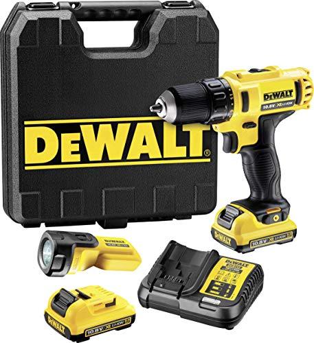DeWalt DCD710D2F (10,8 V / 2,0 Ah / 6-teilig)