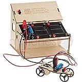 matches21 Elektrotechnik Experimentierkasten mit Elektroauto im Elektro Baukasten inkl. Solarzelle