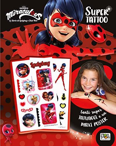 Preisvergleich Produktbild Super Tattoo. Miraculous. Le storie di Ladybug e Chat Noir