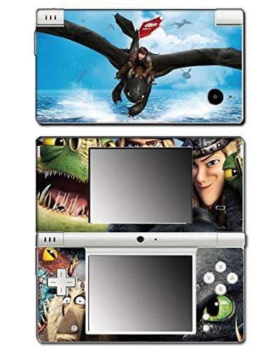 How to Train Your Dragon 2 Hiccup Toothless Astrid Video Game Vinyl Decal Skin Sticker Cover for Nintendo DSi System by Vinyl Skin Designs (Dsi-skin Vinyl)