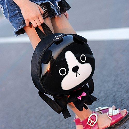 TianranRT ,  Baby Mädchen Unisex Baby Baby Jungen Unisex-Kinder Rucksackhandtaschen Schwarzer Hund