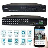 Shopweb.-Videosorveglianza DVR/NVR 16 Canali Ibrido.-Himax D1 (720x480) - Cloud Service. Auto-configurante Digitale Network Standalone H.264 HDMI.- Manuale Italiano.- Assistenza telefonica configurazione.- immagine