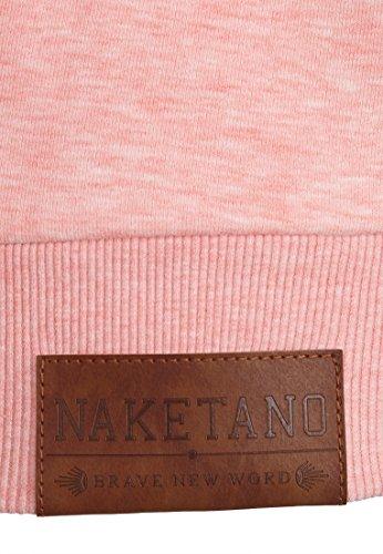 Naketano Debil mit Stil V Black Sugar Pink Melange