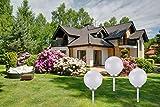 3 x LED Solarkugel Marla mit Erdspieß, Durchmesser 20+25+30 cm Solarleuchte Gartenleuchte Kugelleuchte Gartenkugel für 3 x LED Solarkugel Marla mit Erdspieß, Durchmesser 20+25+30 cm Solarleuchte Gartenleuchte Kugelleuchte Gartenkugel