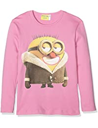 Minions Maglia M/L Intimo Ragazza, Camiseta Térmica para Niños