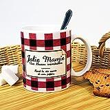 Mug Humoristique - Mug Jolie Mamie parodie Confiture Bonne Maman