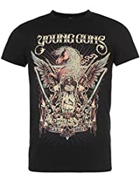 Young Guns Official Dearly Departed T-Shirt Mens Black Top Tee Shirt