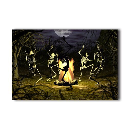 20x30-inch-poster-bone-dance-gothic-scary-halloween-wall-sticker-wall-poster